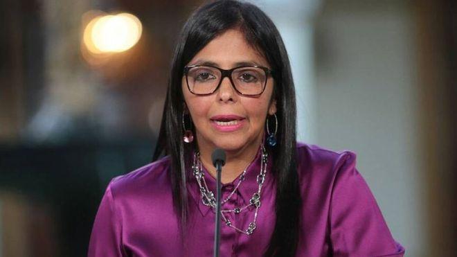 Canciller Delcy Rodríguez | Foto: Twitter Cancillería de Venezuela