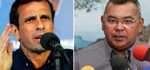 Reverol pide investigar a Capriles por hechos violentos en la marcha opositora | Composición: NotiTotal
