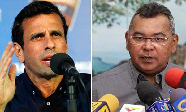 Capriles responsabiliza a Reverol por uso de armas de fuego en protestas | Composición: NotiTotal