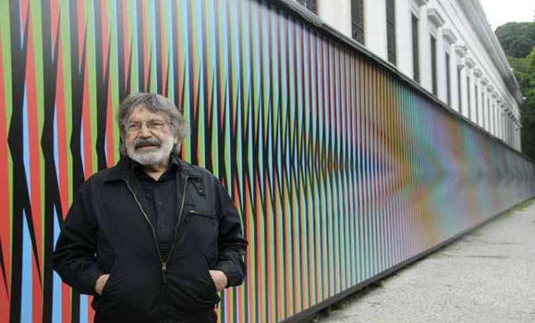 Carlos Cruz Díaz, artista plástico venezolano  Foto cortesía