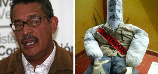 Carneiro ordenó retirar todos los Judas de él y Maduro | Foto: @Milagroseulate/Notitotal