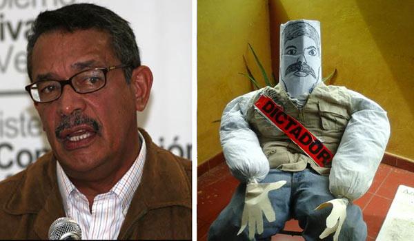 Carneiro ordenó retirar todos los Judas de él y Maduro   Foto: @Milagroseulate/Notitotal