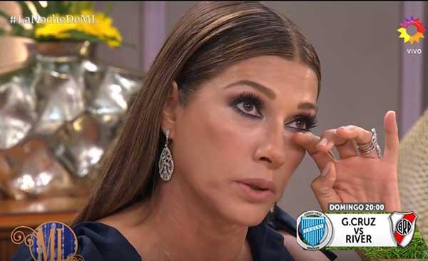 Catherine Fulop rompió en llanto al hablar de la difícil situación en Venezuela | Captura de video