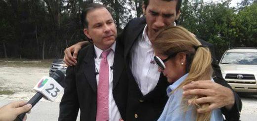 Marco Coello al momento de ser liberado | Foto: @doryscoello1