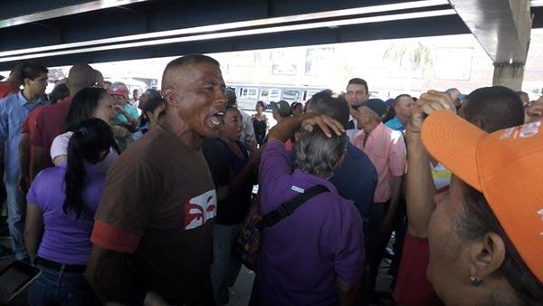 Protesta en Puerto la Cruz | Foto: Twitter
