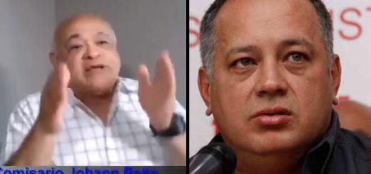 Comisario Peña a Diosdado Cabello   Composición Notitotal