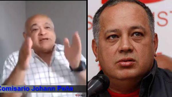 Comisario Peña a Diosdado Cabello | Composición Notitotal
