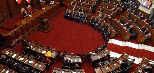 Congreso legislativo de Perú |Foto referencial
