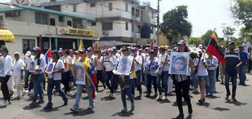 Protesta en Cumaná   Foto: Twitter