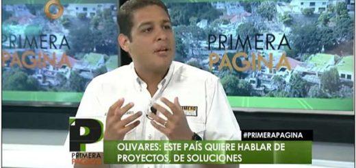 José Manuel Olivares, Diputado de la Asamblea Nacional (AN) | Captura de video