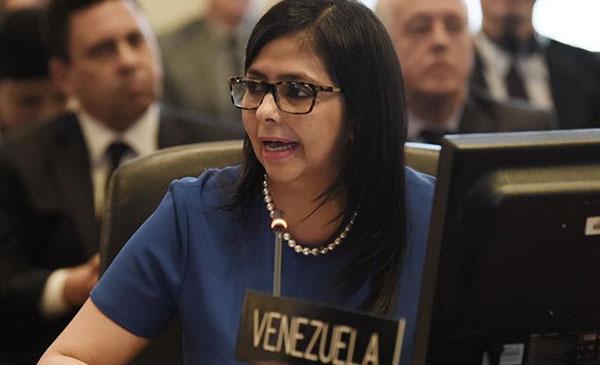 Delcy Rodríguez | Foto: EFE