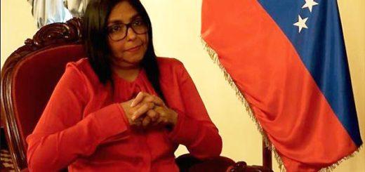 Canciller Delcy Rodríguez | Foto: BBC Mundo