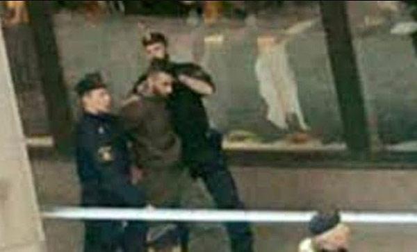 Detenido por atentado en Estocolmo | Foto: Twitter