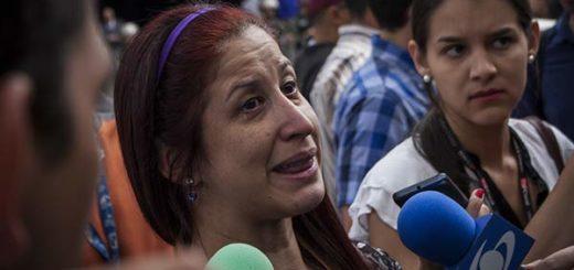 Periodista Elyangélica González, quien fuera agredida por funcionarios de la GNB | Foto: Cortesía