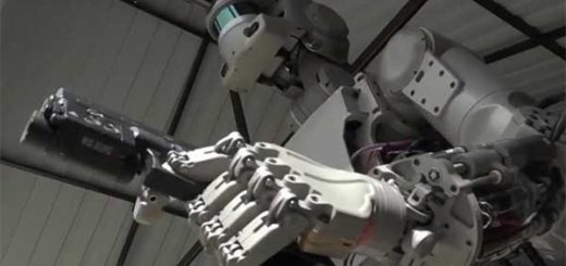 Rusia crea un Terminator que sabe disparar armas con precisión milimétrica | Captura de video