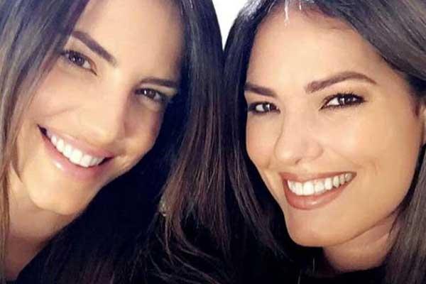 Gaby Espino y su hermana | Créditos: Instagram