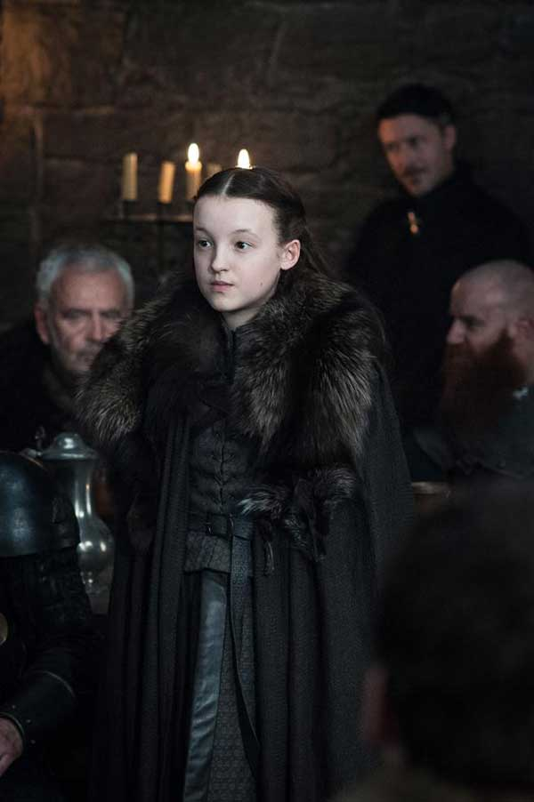 ¡Tenemos a Bella Ramsey otra vez como Lyanna Mormont! (HELEN SLOAN / HBO / HBO)