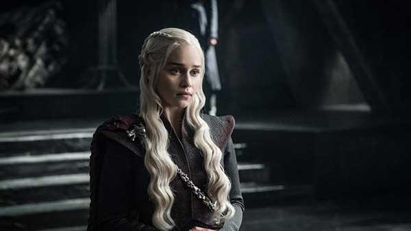 Emilia Clarke como Daenerys Targaryen. (HELEN SLOAN / HBO / HBO)