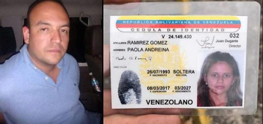 Iván Pernía, presunto asesino de la joven Paola Ramírez | Fotos. Twitter