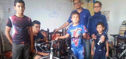 Joseph Escalante suspendió viaje en bicicleta hasta Caracas por amenazas | Foto: El Pitazo