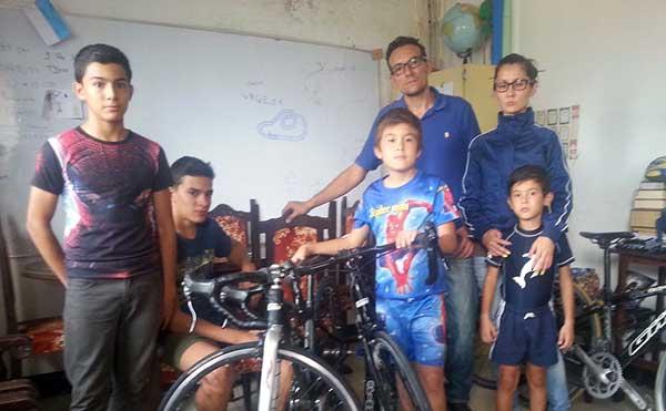 Joseph Escalante suspendió viaje en bicicleta hasta Caracas por amenazas   Foto: El Pitazo