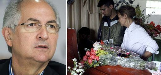Antonio Ledezma envia carta abierta a la madre de Paola Ramírez