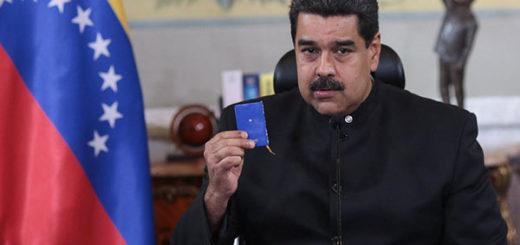 Nicolás Maduro en Consejo de Defensa | Foto: @PresidencialVen