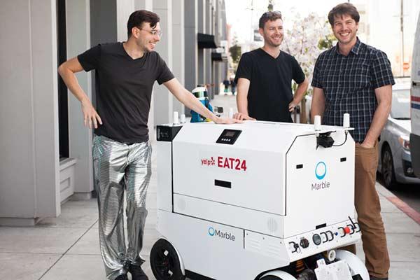 Cofundadores de Marble (de izquierda a derecha) Jason Calaiaro, Matt Delaney and Kevin Peterson |Foto: Thechcrunch
