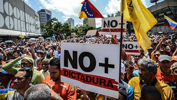 marcha este jueves 6A | Foto: Juan Barreto / AFP