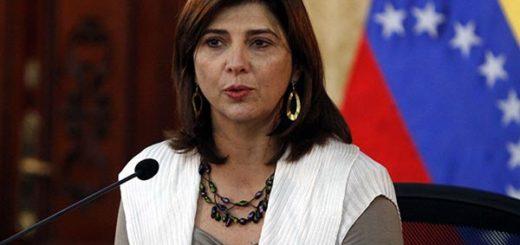 Marían Ángela Holguín, Canciller de Colombia | Foto: Cortesía