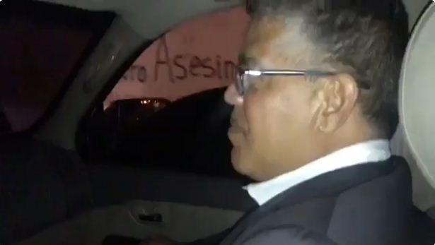 Mensaje a Maduro en las calles de Montalbán / Foto: Captura de video