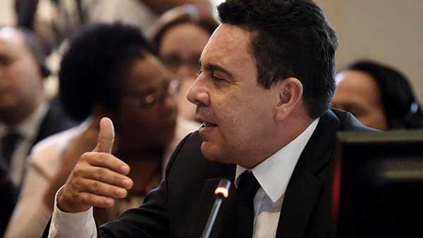 El berrinche que armó Samuel Moncada en la OEA en protesta a la discusión del día | Foto referencial