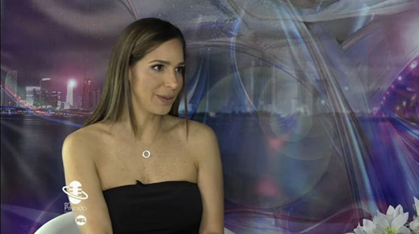 Mónica Pasqualotto, actriz venezolana | Foto: Captura de video