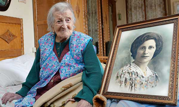 Falleció Emma Morano, la anciana más vieja del mundo | Foto: AP