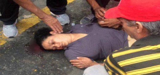 Mujer agredida en La Candelaria | Foto: Twitter