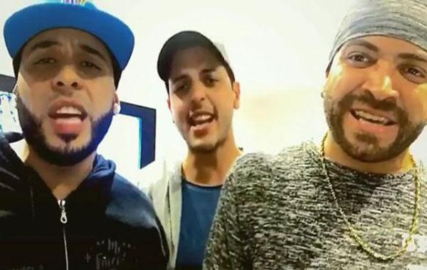 Nacho, Víctor Muñoz y Hernán Portillo se unen en un nuevo tema para Venezuela | Captura de video