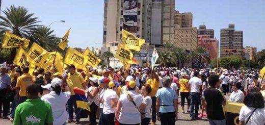 Nueva Esparta se moviliza en rechazo al golpe de Estado contra el Parlamento | Foto: @pjnuevaesparta