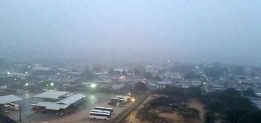 Aguacero en Maracaibo | Foto: Twitter