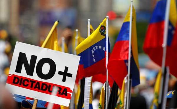 Protesta en Venezuela |Foto cortesía