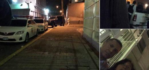 Allanan residencia de los dirigentes de PJ detenidos | Foto: @Dinorahfigueroa