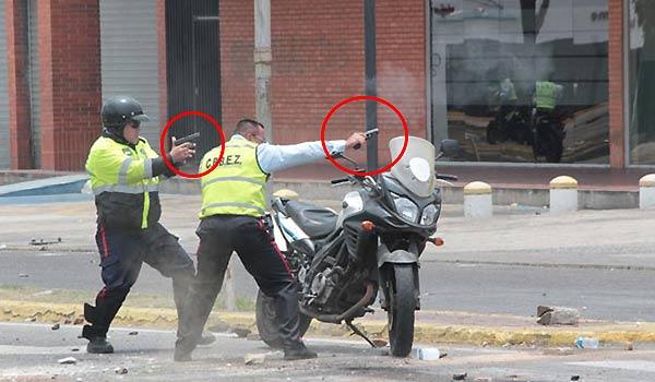 PoliZulia dispara contra manifestantes | Foto: La Verdad