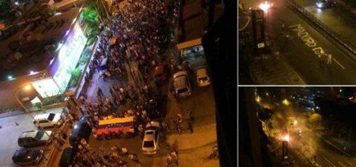 Protesta en San Martín