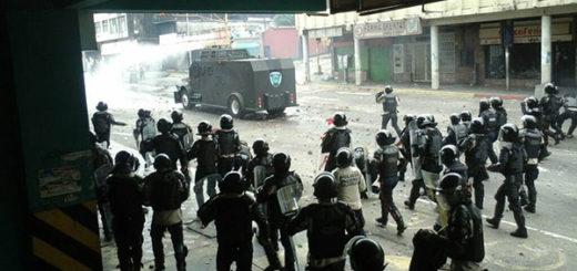 Reportan seis heridos por perdigones en San Cristóbal   Foto: Twitter
