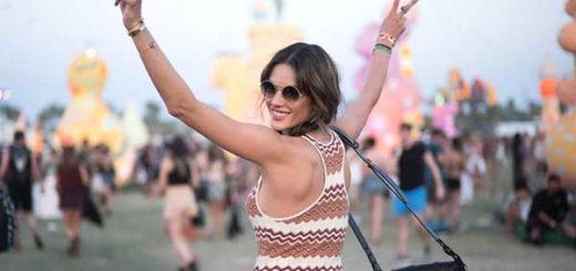 Muchas celebridades se dieron cita en el Festival Coachella 2017 | En la foto: Alexandra Ambrossio / Créditos: E! Online