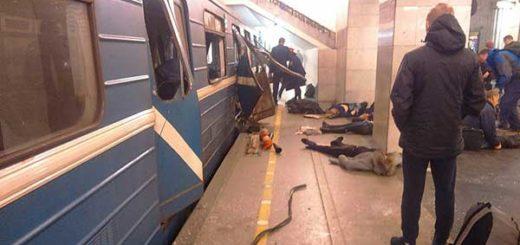 Al menos 10 muertos tras explosión en el metro de San Petersburgo | Foto: Twitter