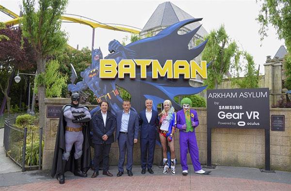 La atracción Batman: Arkham Asylum | Foto: Agencias