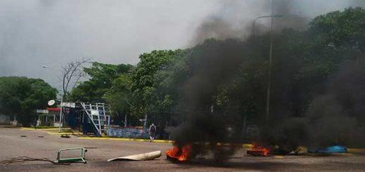 Reportan protestas en la ULA Táchira | Foto: Twitter