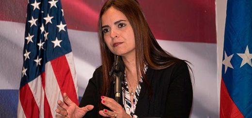 Tamara Suju en la Conferencia CASLA y la Corte Penal Internacional | Foto:Youtube