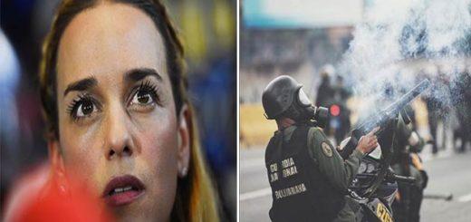 Lilian Tintori envió carta a los cuerpos de seguridad | Foto: Composición Notitotal