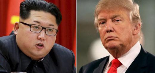 Mandatario de Corea del Norte, Kim Jong Un y Donald Trump | Notitotal